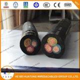 Kabel van de Mijnbouw van het koper de Elektrische Rubber