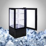 Стеклянный холодильник индикации для пить