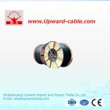 La base de aluminio Single-Core XLPE aisló el cable de transmisión forrado PVC 0.6/1kv