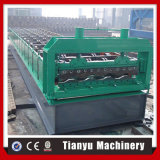 Roulis de plaque de mur de conteneur de panneau de véhicule formant la machine
