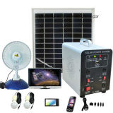 Système d'alimentation solaire mobile de système à énergie solaire approuvé de RoHS de la CE