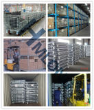Съемные складной контейнер проволочной сетки для тяжелого режима работы