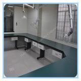 Banc de laboratoire de chimie de centre de recherches de la Science d'école