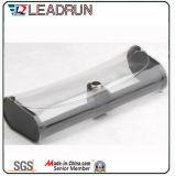 Vidrio de Sun unisex polarizado plástico de la PC del cabrito del acetato del metal del deporte de Sunglass de la manera del metal de madera de la mujer (GL64)