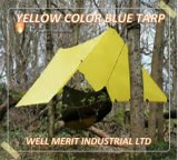 Cor Amarelo Poli Tarp Oleados para camping