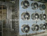 Congelatore di congelamento a spirale di IQF per l'alaccia della rana del filetto di pesce