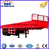 高力鋼鉄3axles 50ton 13m台(40FT)の側面または側板の貨物トラックユーティリティトレーラー