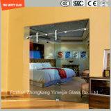簡単なシャワー室、シャワー機構、シャワーの小屋、浴室を滑らせる調節可能な6-12緩和されたガラスのステンレス鋼フレーム