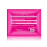 Máscara de lábio rosa rosa para hidratante para cuidados com a pele