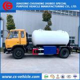 Dongfeng 4X2 10000L LPGのBobtail 10m3満ちるタンクトラック5トンのLPG