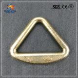 Estilingue de aço galvanizado forjado do Web que chicoteia o anel do delta/anel do triângulo