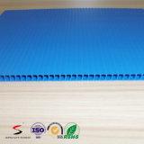 Strato di plastica ondulato della scheda ondulata di Coroplast pp