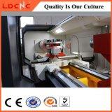 높은 직업적인 정밀도 CNC 수평한 가벼운 의무 선반 기계 Ck6180