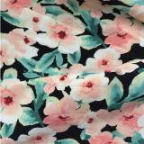 """Tela viscosa impressa floral da fonte do fabricante para o vestido """"sexy"""" das meninas"""