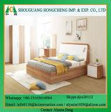 De houten Garderobe van de Slaapkamer van de Melamine voor het Project van het Hotel