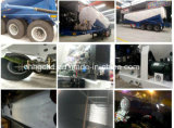 Bulk Cement Tractor Trailers with Unloading Compressor