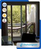Puerta de PVC perfil blanco con vidrio templado