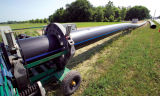 Haute qualité pour l'approvisionnement en eau du tube PE