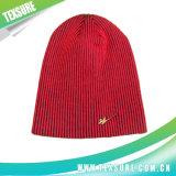 Chapéus mornos do esporte do inverno da senhora Forma Listrado Beanie Confeção de malhas (024)