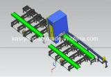 Plasma de aço do CNC da placa da folha do perfil da tubulação do metal/linha de produção lidando da máquina estaca da flama