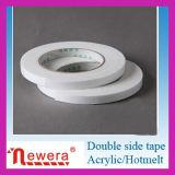 Fabricación profesional del tejido de la cinta del derretimiento del doble de la cinta caliente lateral doble de la cara