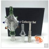 2017 Waterpijp van het Glas van het Uiteinde van het Kwarts van de Uitrusting van de Collector van de Nectar de Duidelijke