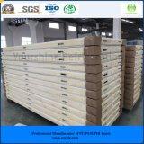 高品質100mm PUサンドイッチパネルの冷蔵室の低温貯蔵