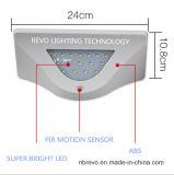 Più nuovo indicatore luminoso solare della parete del sensore di movimento del LED PIR (RS2031)