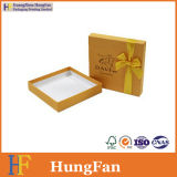 Коробка шоколада золотистого бумажного печатание упаковывая