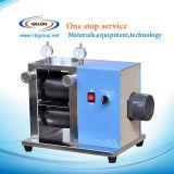 Máquina vertical elétrica do rolo do laboratório do aquecimento superior de Tesk para a pesquisa do laboratório da bateria de lítio