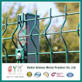 Панели проволочной изгороди панели/металла сетки ограждать/сварки сетки PVC Coated стальные сваренный