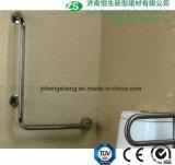 Acciaio inossidabile della stanza da bagno della toletta e barre di gru a benna in su-Pieganti Handicapped di nylon