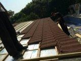 Venda quente na telha de telhado revestida de pedra do metal de África/folha de alumínio da telhadura
