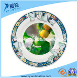 Decor 8 van het Blad van Lotus de Ceramische Plaat van de Sublimatie '' voor Verkoop