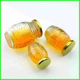 De de in het groot Domeinen van de Kruik van het Glas van de Jam en Kruik van de Gelei om de Duidelijke Kruik van de Honing van het Glas