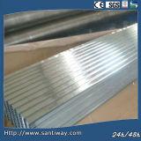 Kurven des galvanisierten gewölbten Dach-Stahlplatten-Dachs