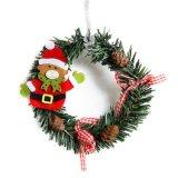 Decoração de Natal Roxo decoração PVC enfeites Contratante fornece decoração doméstica