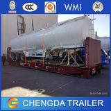 3axles de Aanhangwagen van de Tank van de Stookolie van het roestvrij staal Voor Verkoop (42cbm)