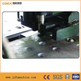 Máquina hidráulica da marcação da placa de aço do CNC