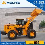 Caricatore cinese 650 della rotella della parte frontale Zl50 5ton per la vendita