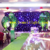 2m*3m, 2m*4m DMX Contol Flexible СИД Star Light Curtain с Fire Proof Velvet для DJ/Stage