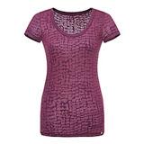 여자 (W142)를 위한 형식 니스 면에 의하여 인쇄되는 t-셔츠