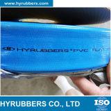 Nenhuma mangueira de alta pressão do PVC Layflat do cheiro no azul