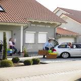 Heißer Verkauf Motoried Aluminiumrollen-Blendenverschluss-Fenster