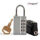 4 combinação de código digital fechadura com chave mestra