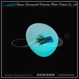 Recarga de plástico Silla de LED de colores