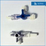 Steriele Beschikbare Plugkraan Met drie richtingen