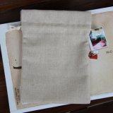 Saco de Drawstring por atacado barato da tela de algodão
