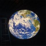 globo gonfiabile di illuminazione dell'aerostato gonfiabile LED di 1m
