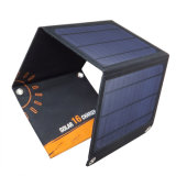 saco Foldable do carregador do telefone móvel da potência da energia 16W solar para a bateria do lítio e de carro